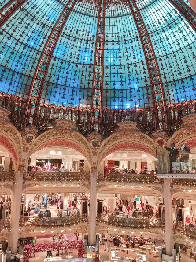 Galeries Lafayette Haussmann - Blog Birds & Bicycles
