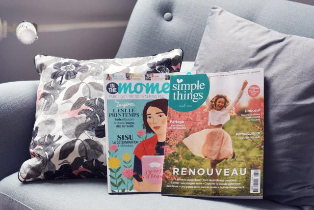 Magazines favoris: mes lectures