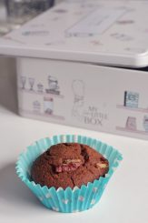 Muffin au chocolat et noix de pécan: tuerie!