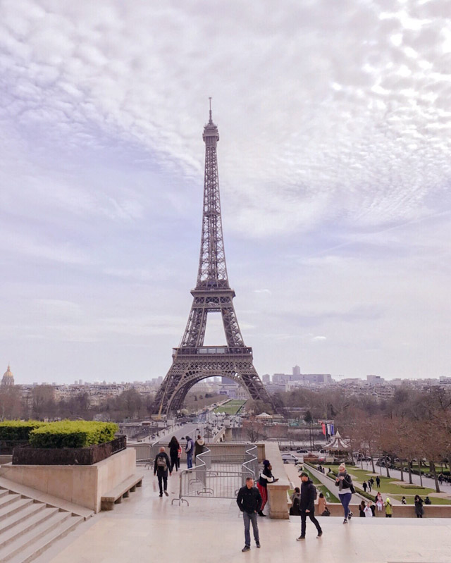 Tour Eiffel - classique Paris