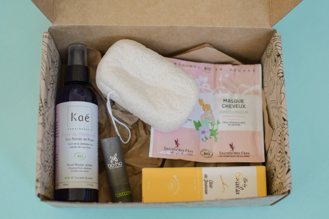 "Blog beauté: Je teste la Box ""Belle au Naturel"""