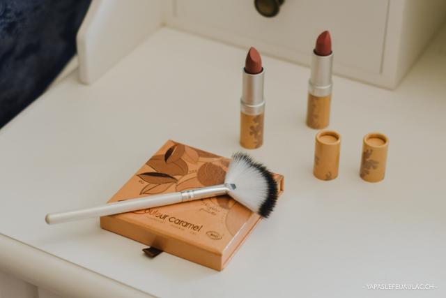 Couleur Caramel maquillage: revue sur le blog & avis sur cette marque naturelle française
