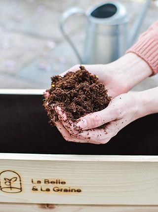 Coffret de graines bio et française de la Belle & la Graine