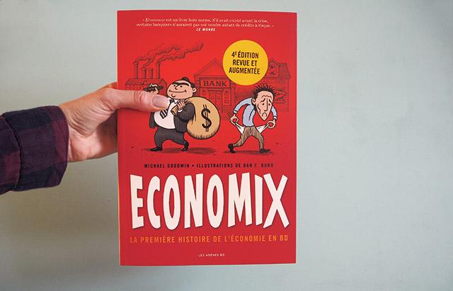 Economix: bande dessinée sur l'économie