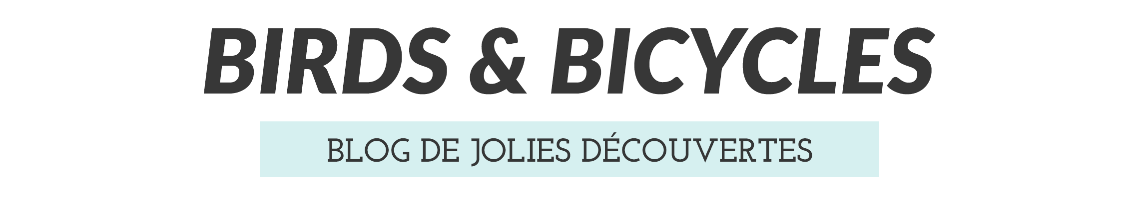 BIRDS & BICYCLES