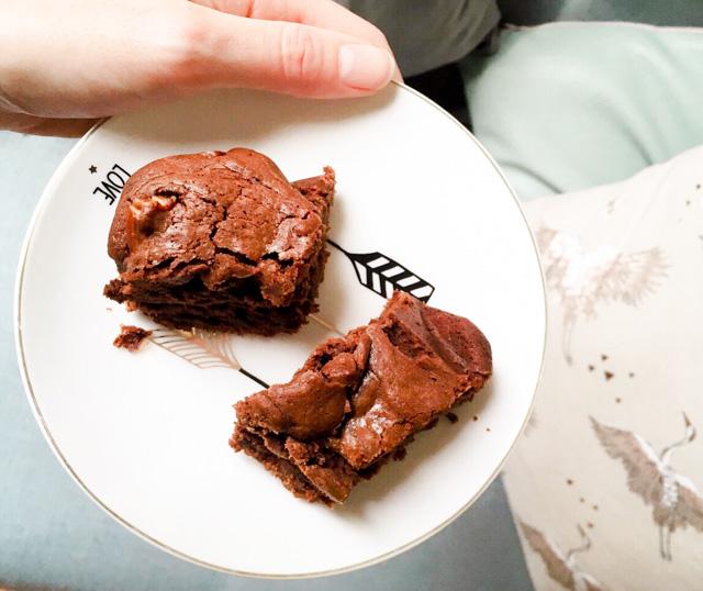 Brownies maison à la farine d'épeautre