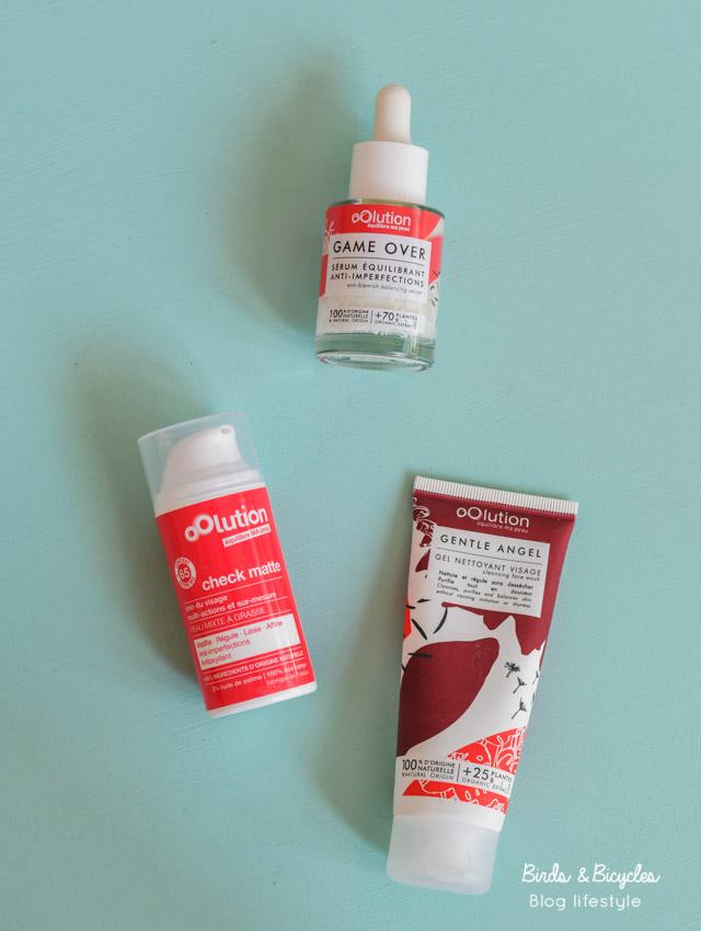 Test & Avis Oolution: crème de jour naturelle, sérum et nettoyant doux de la gamme contre les imperfections