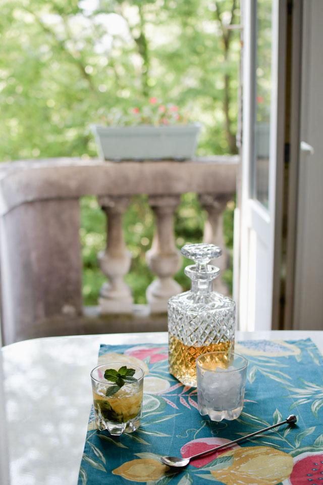 Un cocktail frais pour l'été : le Mint Julep