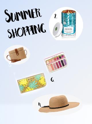 Sélection shopping de l'été