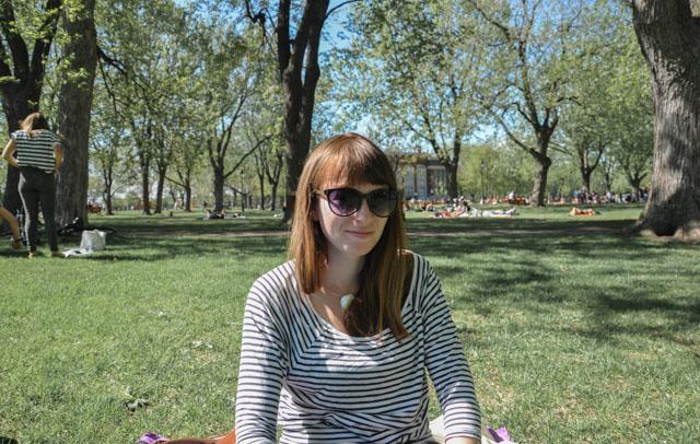 Chiller au parc - style de vie - Billet du blog Birds & Bicycles, proche de la nature