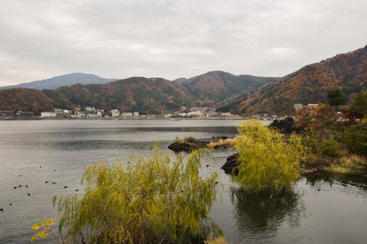 Kawaguchiko - escapade dans les montagnes du Japon vers le Mont Fuji. Avec une adresse d'hôtel pas cher et des bonnes adresses pour prendre un thé