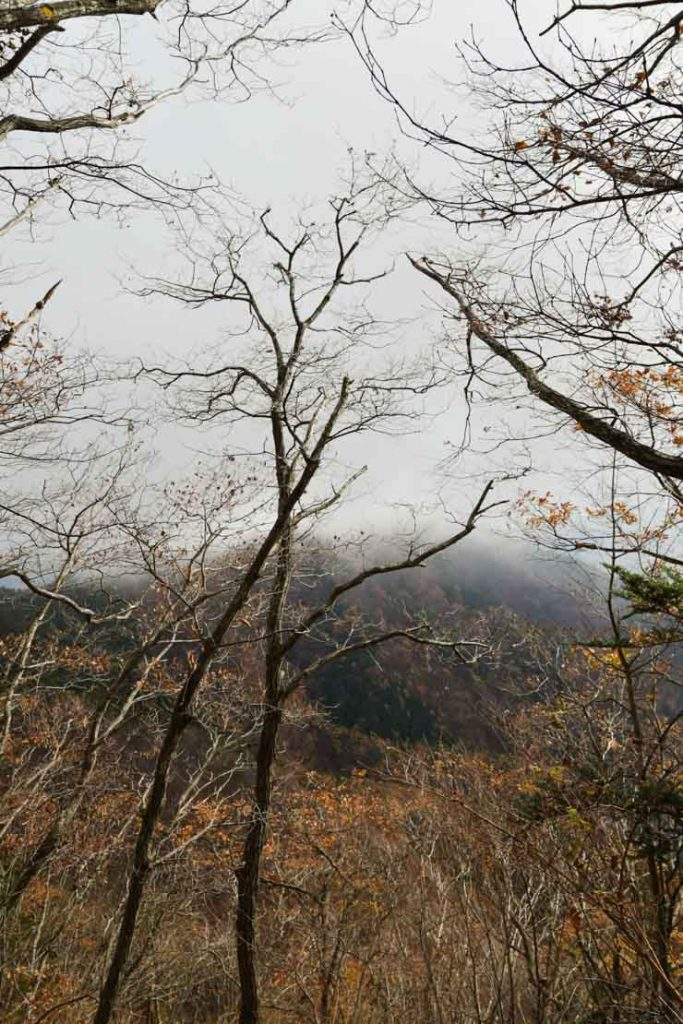 Balade autour du mont Kachi kachi à Kawaguchiko