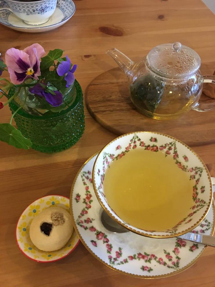 Ou boire un thé à Kawaguchiko?