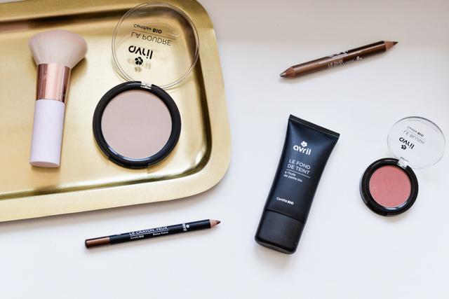 Maquillage bio à petit prix: découverte d'Avril pour le blog, une marque française