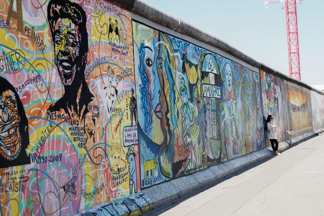 Que voir à Berlin? Où voir des vestiges du mur?