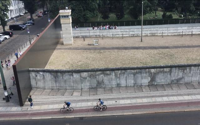 Où voir le mur de Berlin