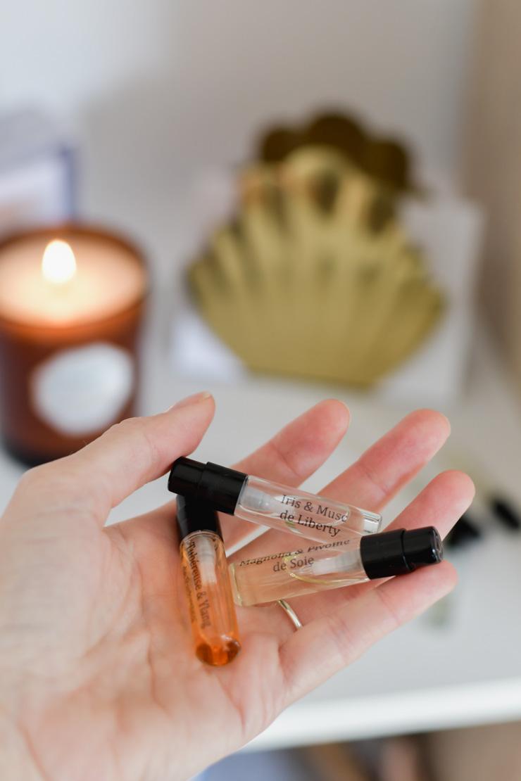 PH fragrances: bougies parfumées et parfums sans ingrédients controversés