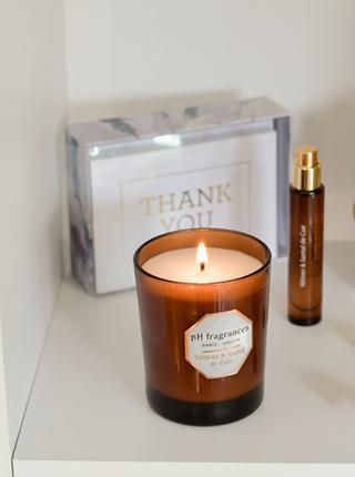 Bougies parfumées clean - blog