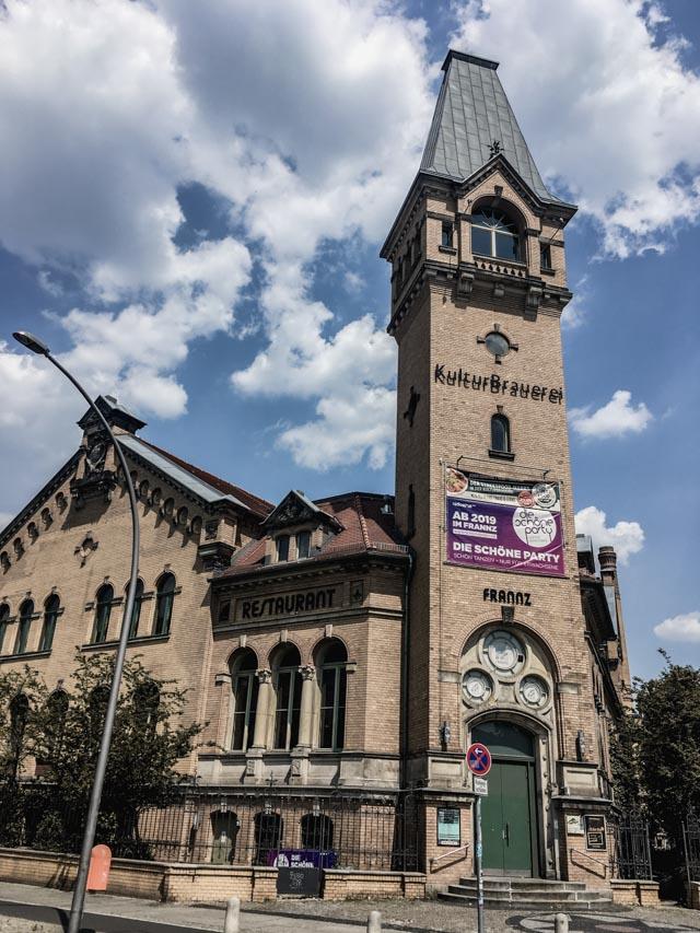 La Kulturbrauerei (centre culturel à Berlin)