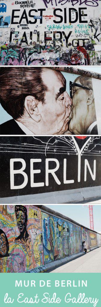Où voir le mur de Berlin?