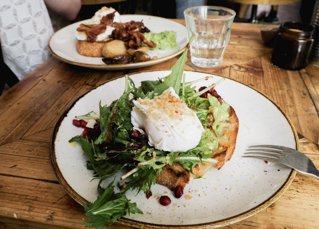 Bruncher à Berlin - Le café Silo à Friedrichshain