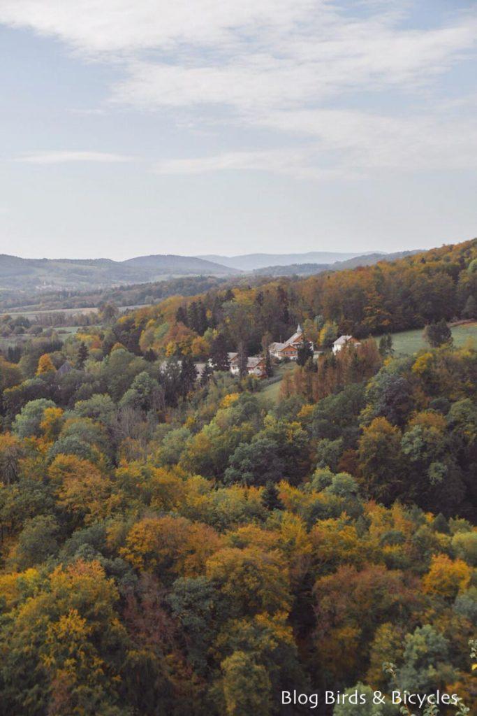 Randonnée dans le Sundgau à Ferrette