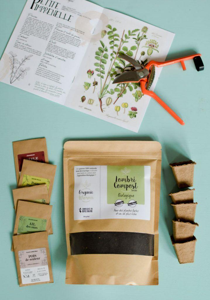 Jardinage urbain: La box de l'Echoppe végétale