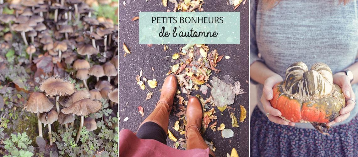 Mes petits bonheurs d'automne