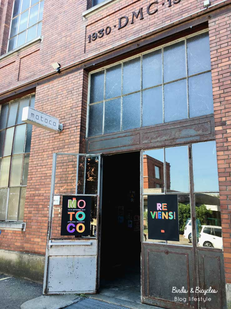 Centre Motoco: lieu alternatif et ateliers d'artistes