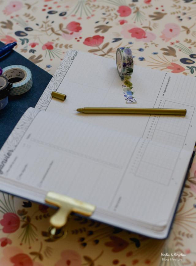 S'organiser avec My Agenda - semainier made in France