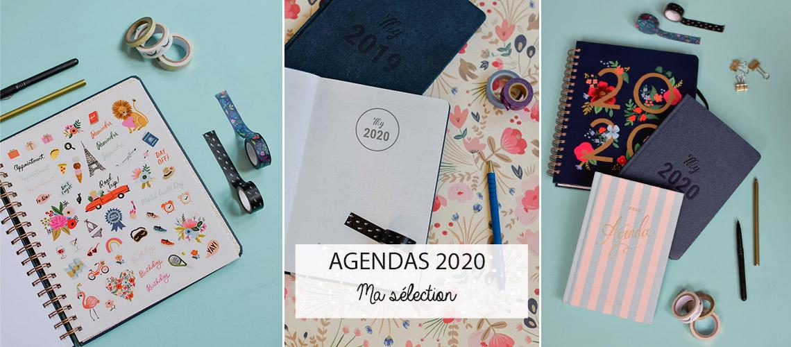 Jolis agendas 2020: ma sélection