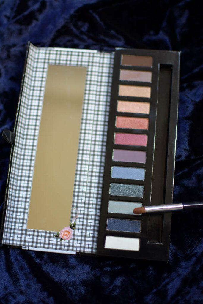 Palette de maquillage bio: test et avis sur celle de Miss W (Coffret tendance 2)
