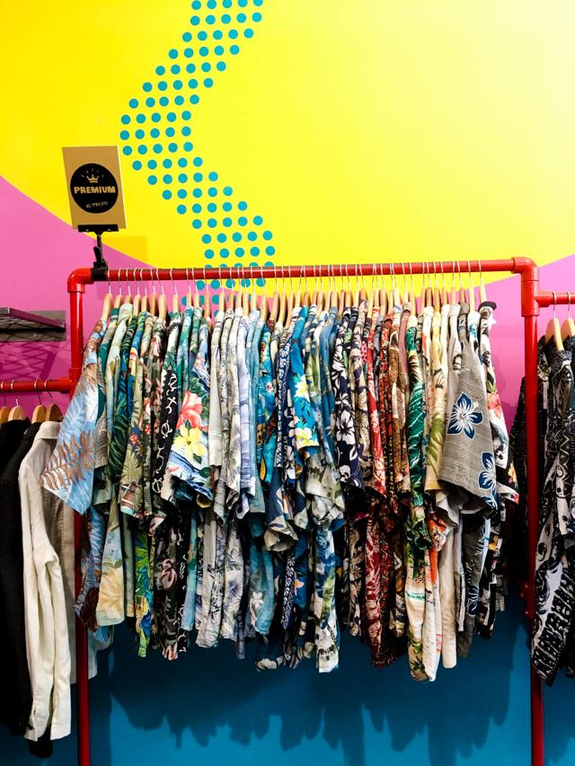 The vintage thrift Store - sélection pointue dans cette friperie de Bristol