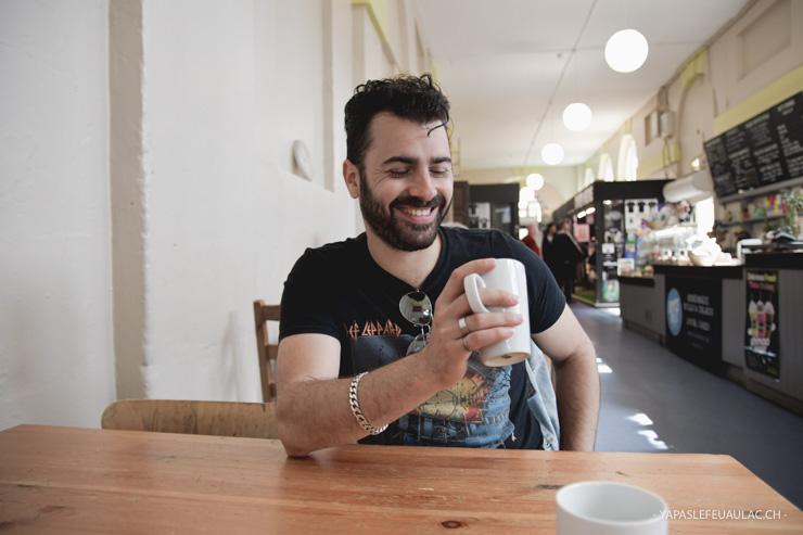 Un café au Marché de Bristol