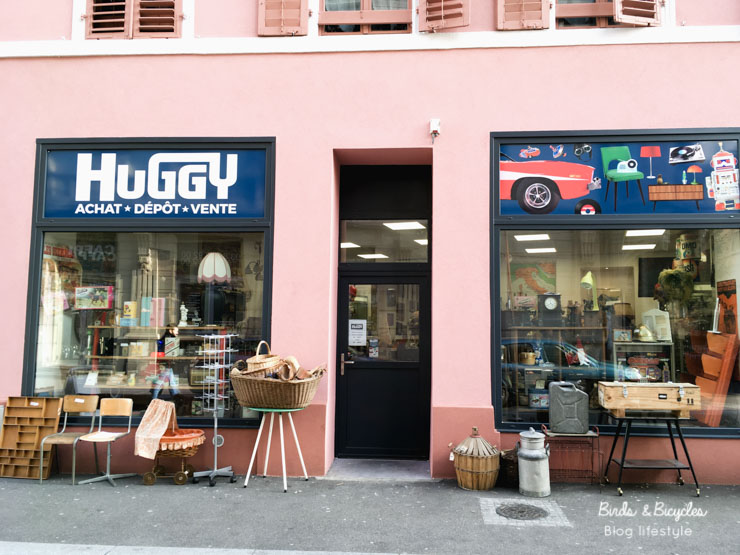 Brocante à Mulhouse: Huggy