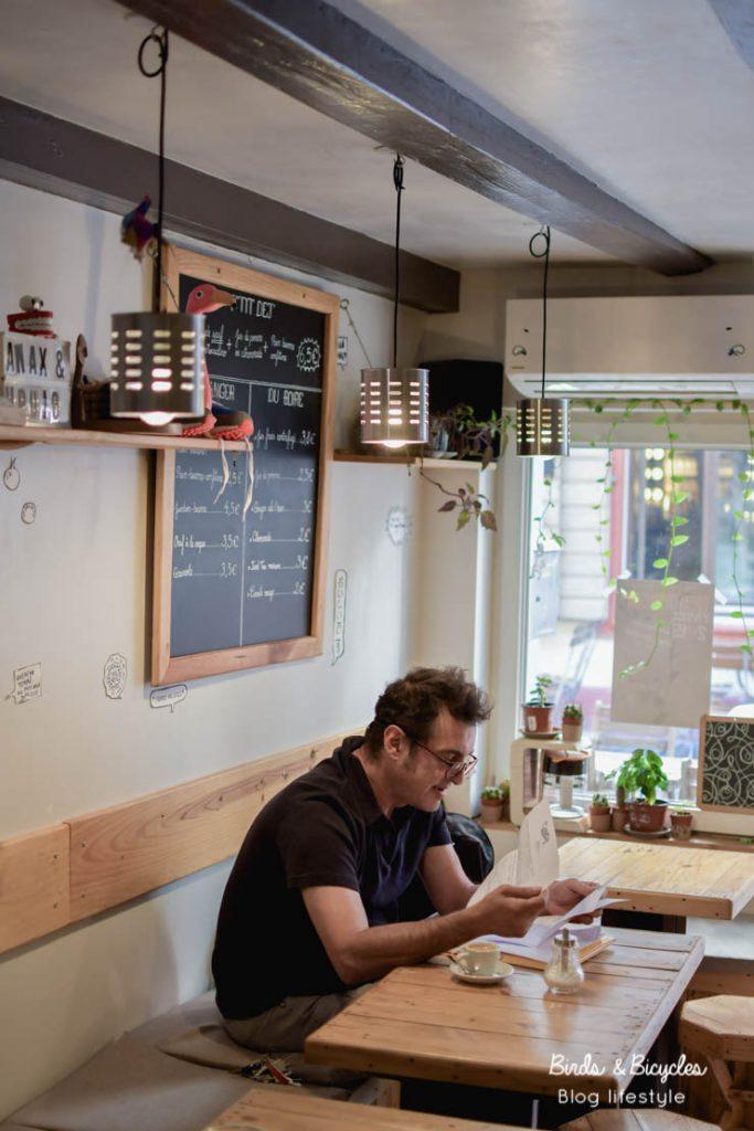 Bonnes adresses de cafés à Mulhouse: chez Kohi, coffee shop. Café excellent et convivial