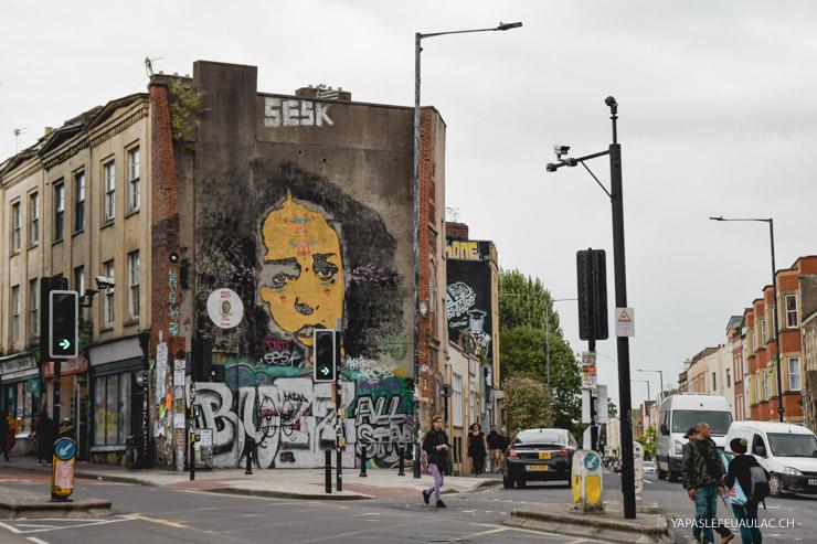 Où voir du street art à Bristol - le quartier de Stokes Croft