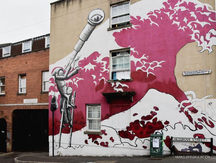 Street art à Bristol: où en voir