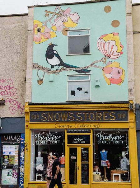 Week-end à Bristol: que faire, que voir? Blog voyage - Angleterre - Birds & Bicycles