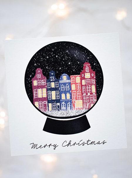 Jolies cartes de Noël de créateurs 2019