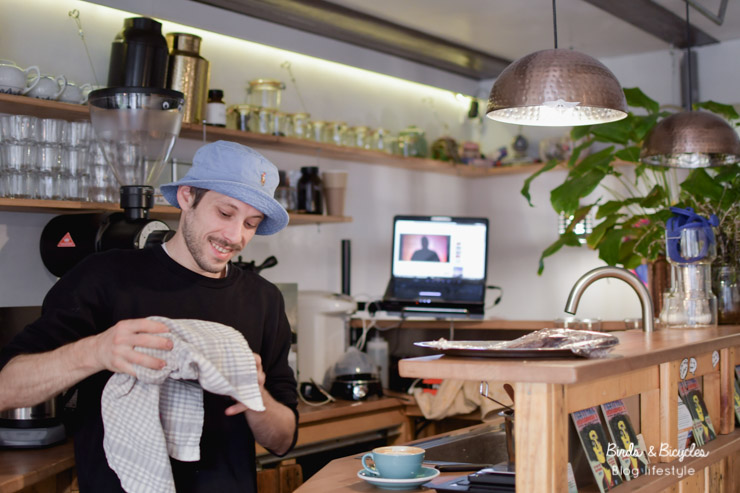 Chez Kohi à Mulhouse, petit café tenu par un VRAI barista, Clément Turlot