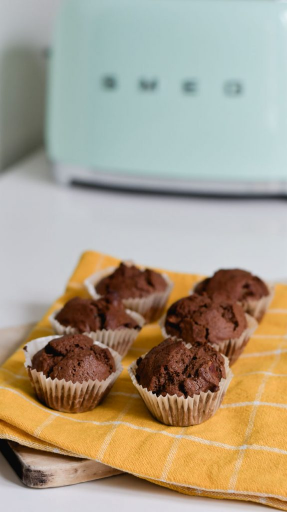 Recette de muffin chocolat gourmand mais pas trop sucré
