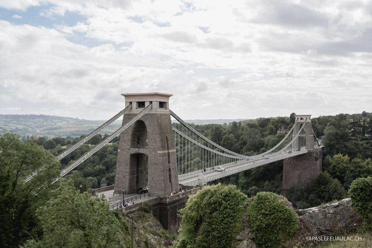 Clifton Bridge de Bristol