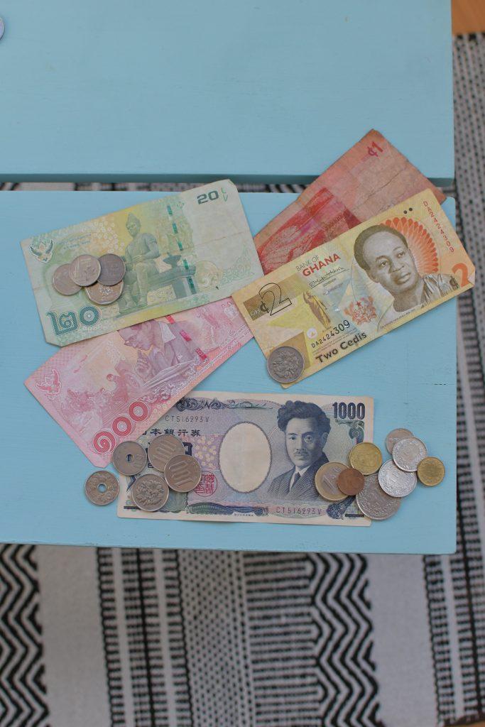 Billets de banque voyage