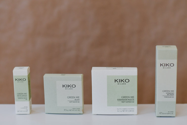 Avis maquillage Kiko Green