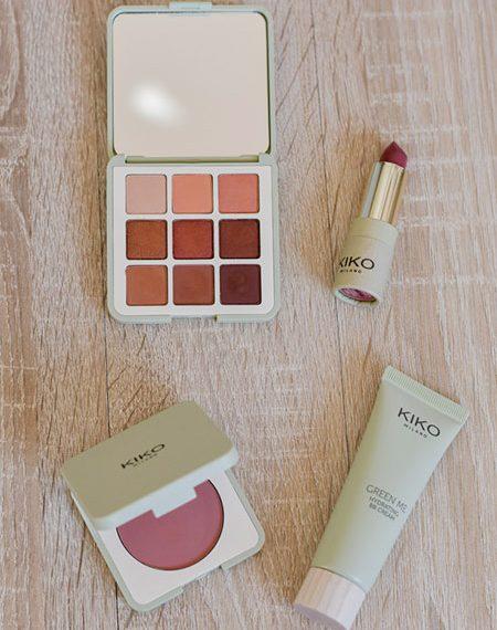 Test maquillage Kiko Green Me