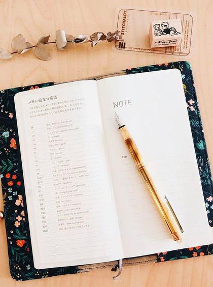 Journaling: découverte du hobonichi