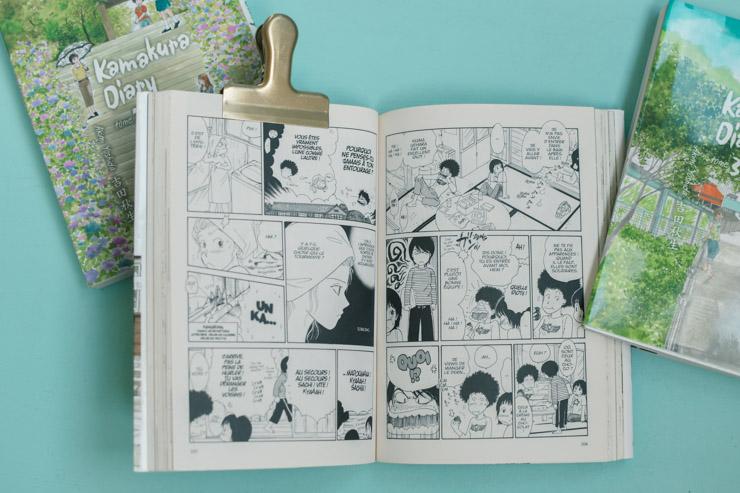 Coup de cœur pour un manga! Kamakura Diary d'Akimi Yoshida (éd. Kana) raconte le quotidien de quatre sœurs dans le Japon d'aujourd'hui.