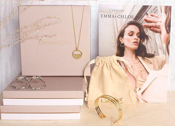 Box de bijoux mensuelle Emma & Chloé
