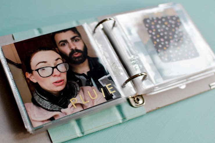 Mon album photo de souvenirs DIY sur le blog